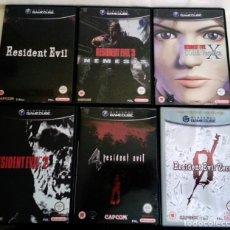 Videojuegos y Consolas: RESIDENT EVIL,2,3,4,CODE VERONICA,ZERO PAL UK (SUB SPA TODOS) GAMECUBE GAME CUBE. Lote 83382068