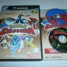 Videojuegos y Consolas: POKEMON COLOSSEUM NINTENDO GAME CUBE PAL ESPAÑA COMPLETO. Lote 115293364