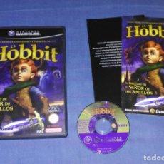 Videojuegos y Consolas: JUEGO GAMECUBE EL HOBBIT - COMPLETO - PAL ESPAÑA GAME CUBE. Lote 85777460
