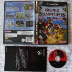 Videojuegos y Consolas: NINTENDO GAME CUBE SUPER SMASH BROS. MELEE EDICIÓN ESPAÑOLA GC GAMECUBE. Lote 95403542