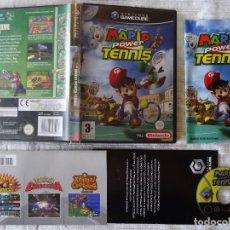 Videojuegos y Consolas: NINTENDO GAME CUBE MARIO POWER TENNIS EDICIÓN ESPAÑOLA GC GAMECUBE. Lote 88860752