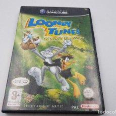 Videojuegos y Consolas: LOONEY TUNES DE NUEVO EN ACCION PAL ESPAÑA NINTENDO GAMECUBE GAME CUBE.COMBINO ENVÍO. Lote 90939155