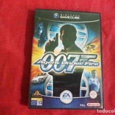 Videojuegos y Consolas: 007 AGENT UNDER FIRE NINTENDO GAMECUBE. Lote 93134525