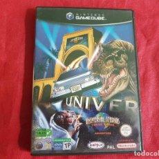 Videojuegos y Consolas: UNIVERSAL STUDIOS NINTENDO GAMECUBE. Lote 93134780