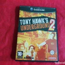 Videojuegos y Consolas: TONY HAWK`S UNDERGROUND 2 NINTENDO GAMECUBE. Lote 93135245