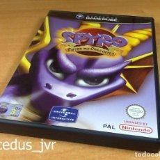 Videojuegos y Consolas: SPYRO: ENTER THE DRAGONFLY JUEGO PARA NINTENDO GAMECUBE GAME CUBE PAL CON PROBLEMA. Lote 97391888