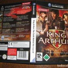 Videojuegos y Consolas: KING ARTHUR - NINTENDO GAMECUBE. Lote 95654035