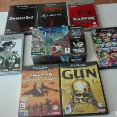 Videojuegos y Consolas: LOTE JUEGOS GAMECUBE COMPLETOS. Lote 95684092