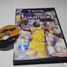 Videojuegos y Consolas: NBA COURTSIDE 2002 ( NINTENDO GAMECUBE/WII-PAL- ESPAÑA). Lote 96149235