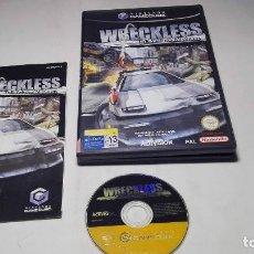 Videojuegos y Consolas: WREKLESS - THE YAKUZA MISSIONS ( NINTENDO GAMECUBE/WII-PAL- ESPAÑA). Lote 96149315
