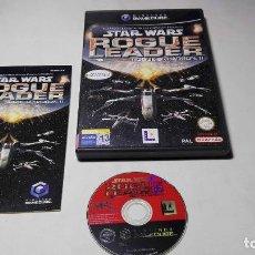 Videojuegos y Consolas: STAR WARS ROGUE LEADER ( NINTENDO GAMECUBE/WII-PAL- ESPAÑA) . Lote 97776783