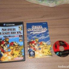 Videojuegos y Consolas: SUPER SMASH BROS MELEE COMPLETO NINTENDO GAMECUBE GAME CUBE PAL ESPAÑA CASTELLANO. Lote 98126359
