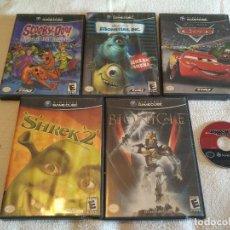 Videojuegos y Consolas: LOTE DE JUEGOS NINTENDO GAME CUBE USA VARIADOS. Lote 98237127