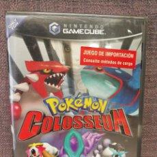 Videojuegos y Consolas: POKÉMON COLOSSEUM US IMPORT SEALED GAME CUBE . Lote 98458187