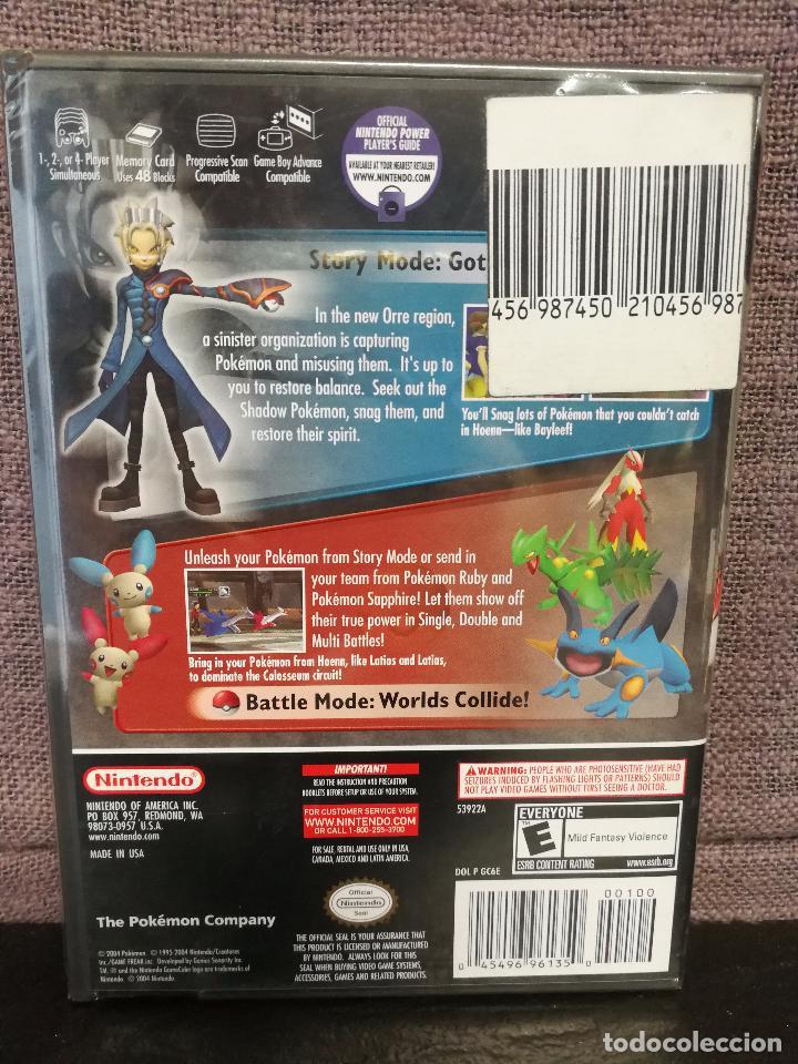Videojuegos y Consolas: POKÉMON COLOSSEUM US IMPORT SEALED GAME CUBE - Foto 2 - 98458187
