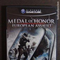Videojuegos y Consolas: JUEGO NINTENDOCUBE MEDAL OF HONOR (EUROPEAN ASSAULT). Lote 100304451