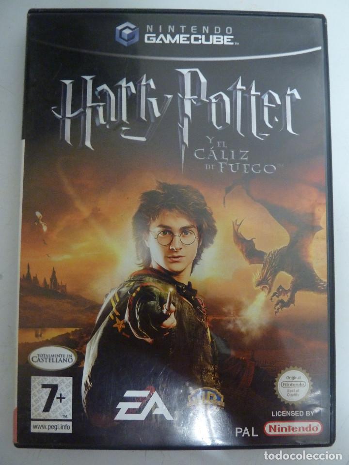 JUEGO - NINTENDO GAMEGUBE - HARRY POTTER Y EL CALIZ DE FUEGO (Juguetes - Videojuegos y Consolas - Nintendo - Gamecube)