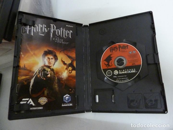 Videojuegos y Consolas: JUEGO - NINTENDO GAMEGUBE - HARRY POTTER Y EL CALIZ DE FUEGO - Foto 3 - 101682287