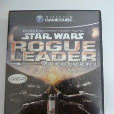 Videojuegos y Consolas: JUEGO - NINTENDO GAMEGUBE - STAR WARS - ROGUE LEADER. Lote 101984271