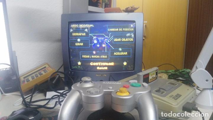 Videojuegos y Consolas: antigua nintendo game cube con juego de mario kart - Foto 3 - 103320043