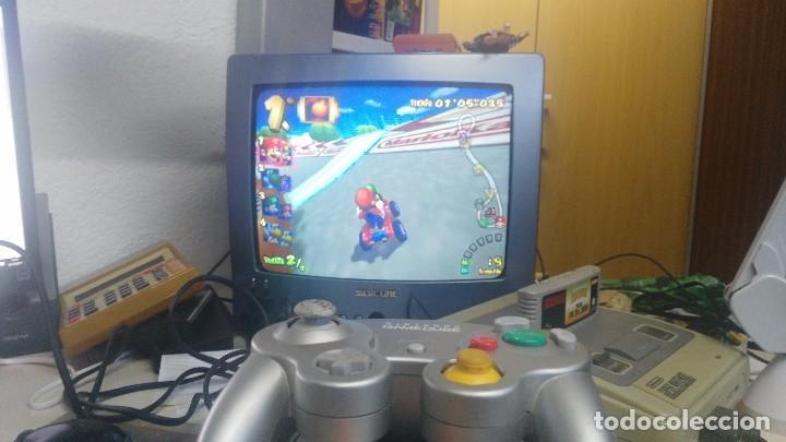 Videojuegos y Consolas: antigua nintendo game cube con juego de mario kart - Foto 4 - 103320043
