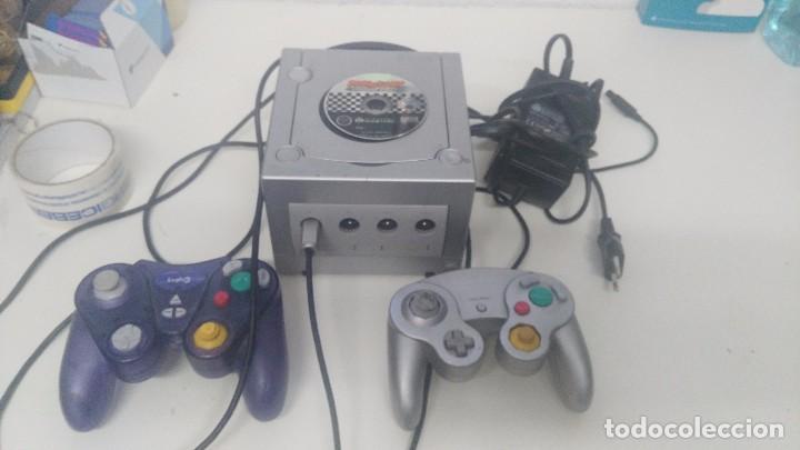 Videojuegos y Consolas: antigua nintendo game cube con juego de mario kart - Foto 5 - 103320043