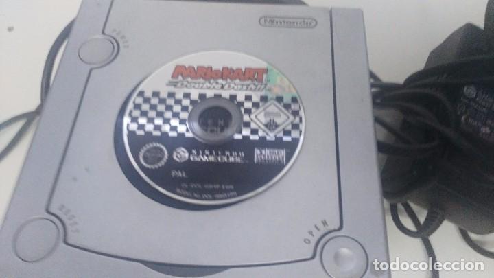 Videojuegos y Consolas: antigua nintendo game cube con juego de mario kart - Foto 6 - 103320043