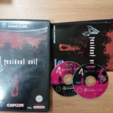 Videojuegos y Consolas: RESIDENT EVIL 4 - NINTENDO GAMECUBE GAME CUBE GC WII PAL ESP. Lote 104139935