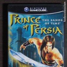Videojuegos y Consolas: JUEGO GAMECUBE - NINTENDO - PRINCE OF PERSIA. Lote 105382843
