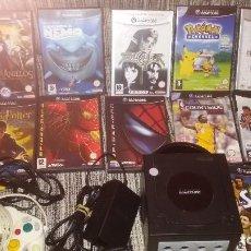 Videojuegos y Consolas: CONSOLA GAME CUBE GAMECUBE DE NINTENDO +PACK DE 11 JUEGOS COMO NUEVO!!!!!!!!!!!!. Lote 106371799