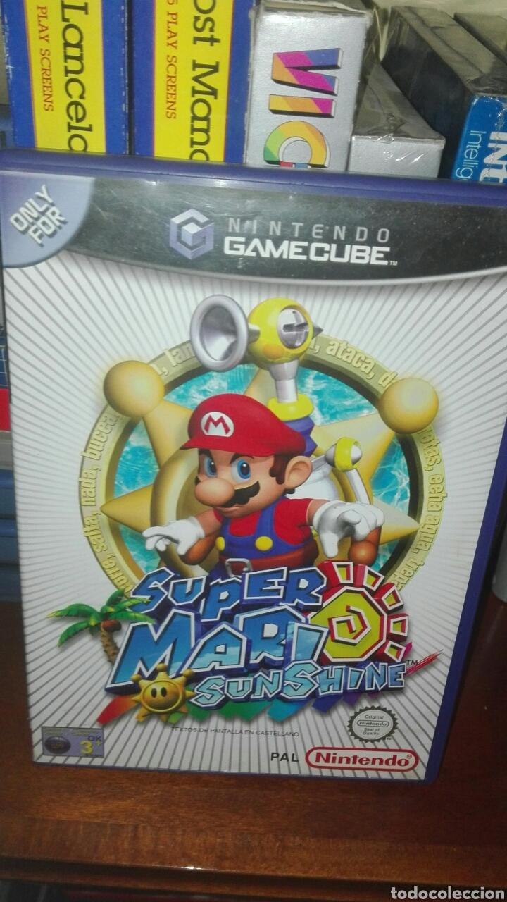 Supermario Sunshine Game Cube Kaufen Videospiele Und Konsolen