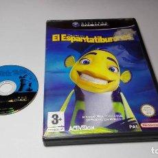 Videojuegos y Consolas: EL ESPANTATIBURONES ( NINTENDO GAMECUBE/WII-PAL- ESPAÑA) E10. Lote 108839795