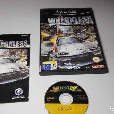 Videojuegos y Consolas: WRECKLESS - THE YAKUZA MISSIONS ( NINTENDO GAMECUBE/WII-PAL- ESPAÑA) E10. Lote 108839831