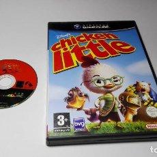 Videojuegos y Consolas: DISNEY´S CHIKEN LITTLE ( NINTENDO GAMECUBE/WII-PAL- ESPAÑA) E10. Lote 108839863