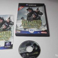 Videojuegos y Consolas: MEDAL OF HONOR FRONTLINE ( NINTENDO GAMECUBE/WII-PAL- ESPAÑA) E13. Lote 109079951