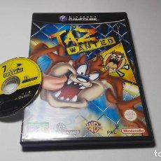 Videojuegos y Consolas: TAZ WANTED ( NINTENDO GAMECUBE/WII-PAL- ESPAÑA) E13. Lote 109080339