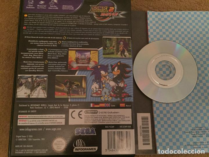 SONIC ADVENTURE 2 BATTLE SEGA NGC NINTENDO GAME CUBE GAMECUBE GC KREATEN