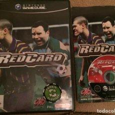 Videojuegos y Consolas: RED CARD REDCARD NGC NINTENDO GAME CUBE GAMECUBE GC KREATEN. Lote 112718847