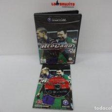 Videojuegos y Consolas: RED CARD GAMECUBE. Lote 115110303