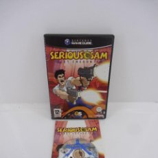 Videojuegos y Consolas: SERIOUS SAM NEXT ENCOUNTER GAMECUBE. Lote 115110727