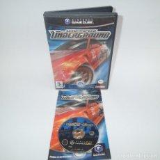 Videojuegos y Consolas: NEED FOR SPEED UNDERGROUND GAMECUBE. Lote 115113347