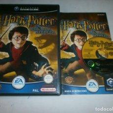 Videojuegos y Consolas: HARRY POTTER Y LA CAMARA SECRETA NINTENDO GAMECUBE PAL ESPAÑA COMPLETO. Lote 115466051