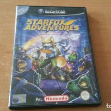 Videojuegos y Consolas: STARFOX ADVENTURES GAMECUBE PAL ESPAÑA COMPLETO. Lote 116840179