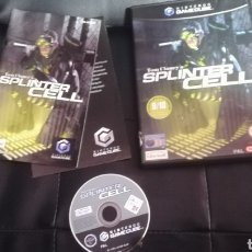 Videojuegos y Consolas: GAMECUBE, SPLINTER CELL, GAME CUBE, PAL UK, COMPLETO. Lote 117729184