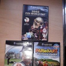 Videojuegos y Consolas: GAMECUBE PACK 3 JUEGOS ORIGINALES. Lote 118088179