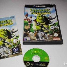 Videojuegos y Consolas: SHREK EXTRA LARGE ( NINTENDO GAMECUBE/WII-PAL- ESPAÑA). Lote 118254059