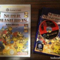 Videojuegos y Consolas: ANTIGUO JUEGO CONSOLA NINTENDO GAMECUBE SUPER SMASH BROS MELEE. Lote 121715259