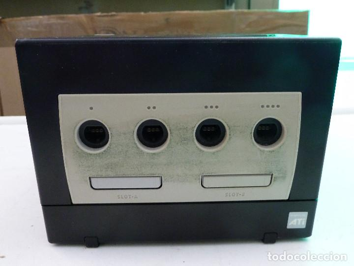CONSOLA NINTENDO GAMECUBE NEGRA (Juguetes - Videojuegos y Consolas - Nintendo - Gamecube)