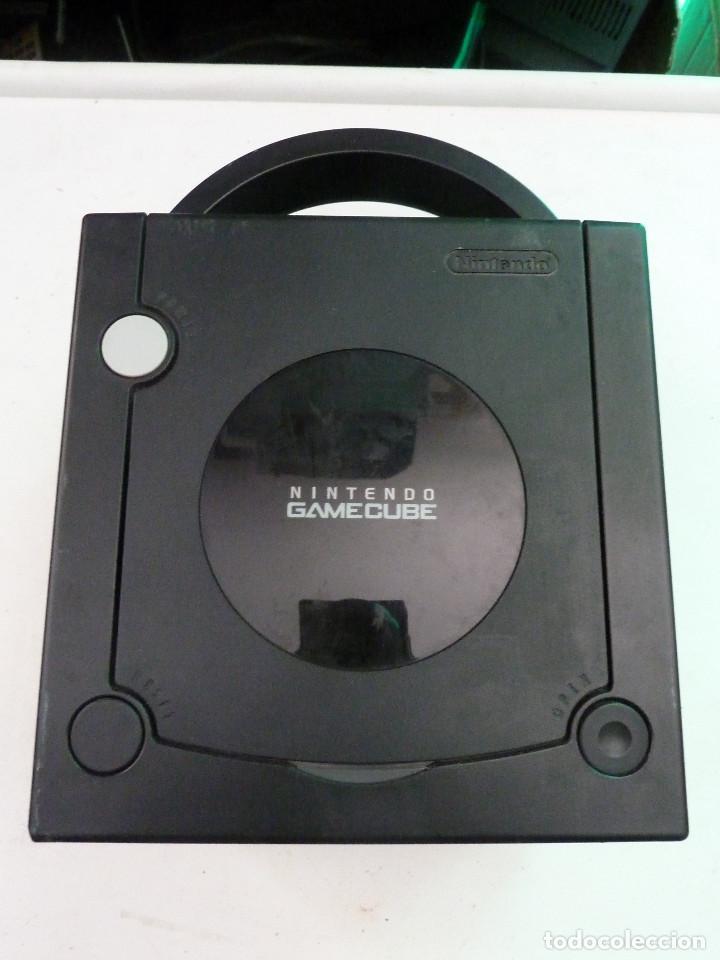 Videojuegos y Consolas: CONSOLA NINTENDO GAMECUBE NEGRA - Foto 5 - 225024578