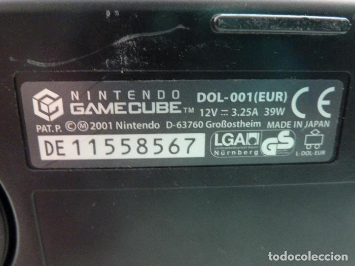 Videojuegos y Consolas: CONSOLA NINTENDO GAMECUBE NEGRA - Foto 8 - 225024578
